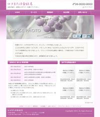 日本の伝統色「梅紫」